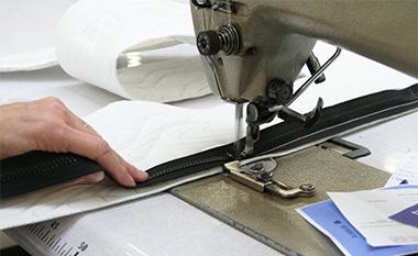 Nos matelas sont fabriqués dans notre atelier du Mans depuis 1945